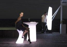 Outdoor - Mobilier téclairé BLANCA
