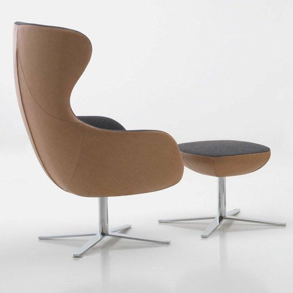 Queen - le fauteuil lounge signé Cider Edition