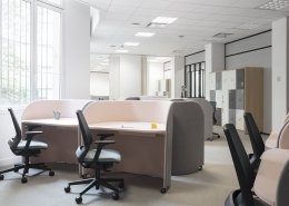 Rolling Desk - le bureau individuel mobile signé AdriAn Blanc