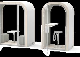 Cabine Box acoustique individuelle ou double