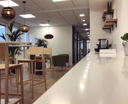 Entreprise industrielle Grand Est - Tabouret et table haute