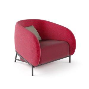 Fauteuil Lounge CURL